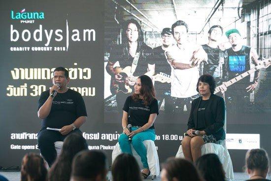 Laguna Phuket presents Bodyslam Charity Concert 2015