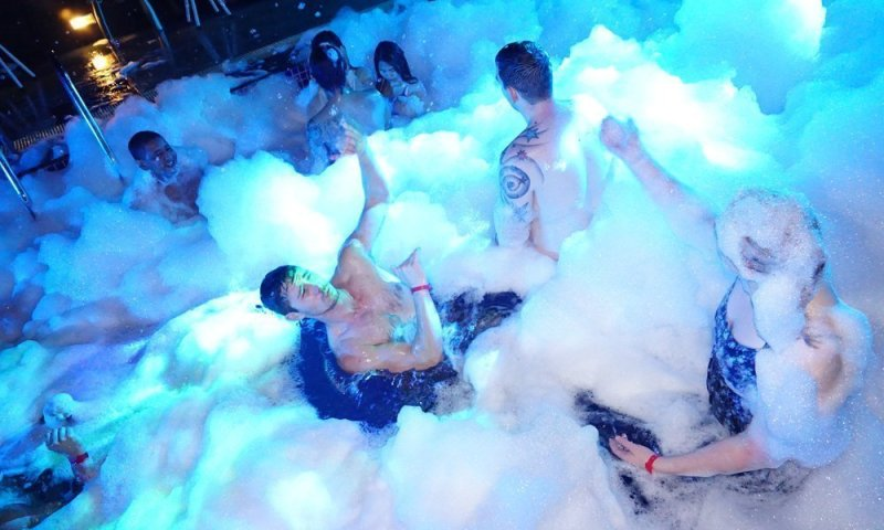 Foam Party at Centra Ashlee Hotel Patong