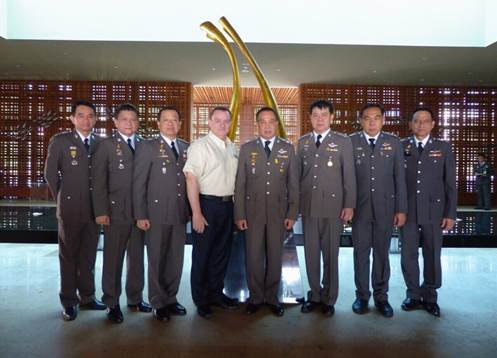 Welcome the Commanders of the Royal Thai Police