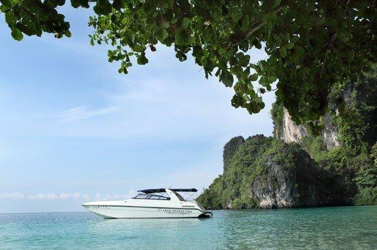 Luxury private speedboat trips & free elephant riding at Sofitel Krabi