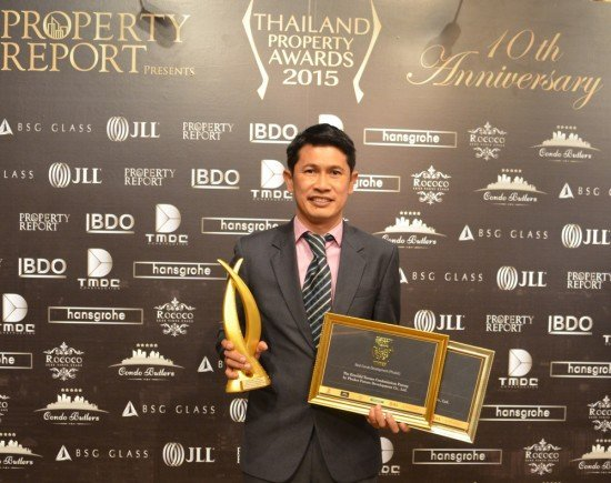 01Emerald Development Group is officially the Best Properties in Thailand by Thailand Property Awards 2015 Winning
