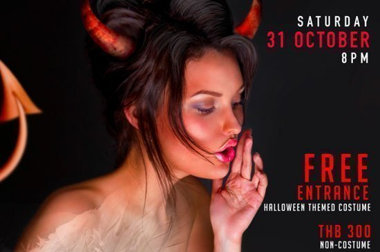 Xana Beach Club Halloween – Demons and Angels in Phuket