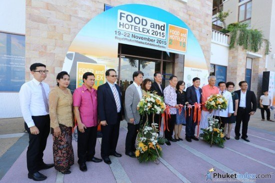 01Inaugural FOOD and HOTELEX 2015 opens in Phuket