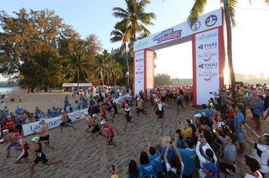 World Champion Returns and Wins Laguna Phuket Triathlon