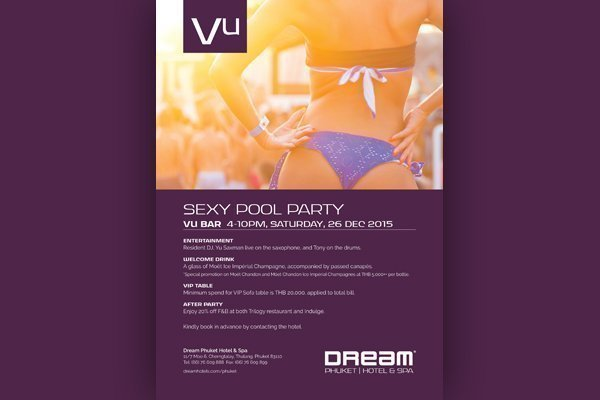 Let's beat the heat with the coolest Pool Party – Sexy Pool Party at Dream