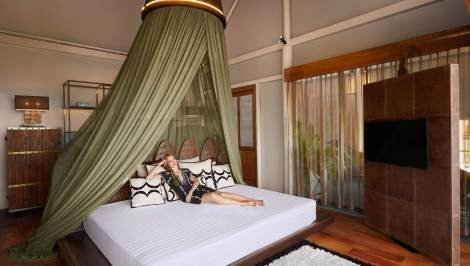 Tent Pool Villa Bedroom