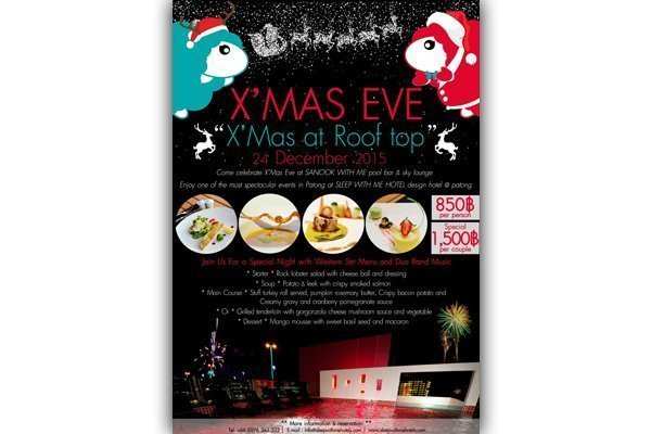 X'Mas Eve – X'Mas at Roof top