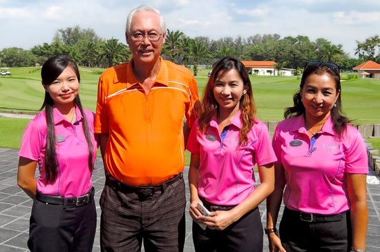 Mr. Goh Chok Tong visited and played at Laguna Golf Phuket
