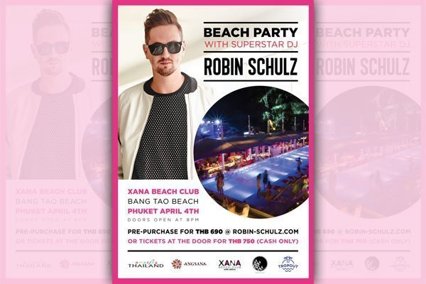 Robin Schulz to perform at Xana Beach Club