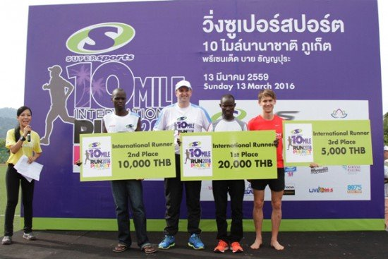 02Kenyans Top Second Supersports 10-Mile International Run in Phuket Heat