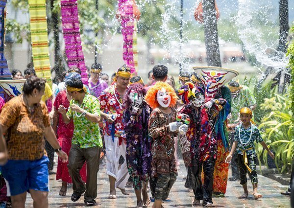 Celebrate Songkran Festival in style with Angsana Laguna Phuket