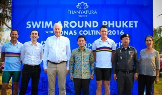 "Swedish Ultraman World Champion's ""Swim Around Phuket"" commences"