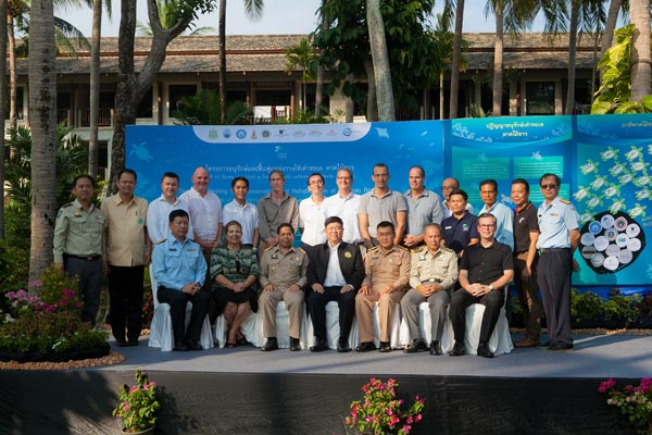 Mai Khao Marine Turtle Foundation launches Marine Turtle Nesting Site Conservation and Rehabilitation Project
