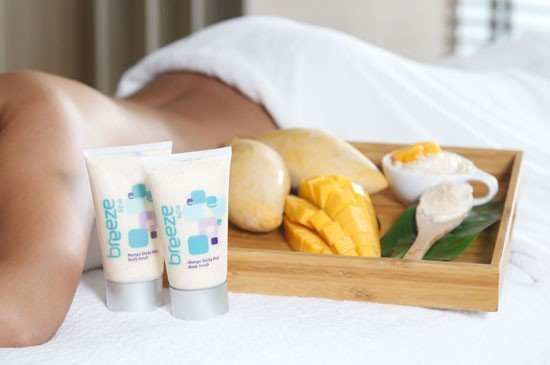 Experience tasty mango sticky rice scrub this summer at Amari Phuket's Breeze Spa