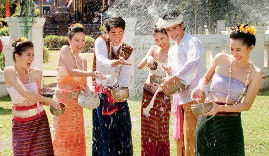 Songkran festival JW Marriott Phuket Resort and Spa