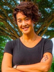 Metinee Kingpayom, top model and commentator of The Face and The Star