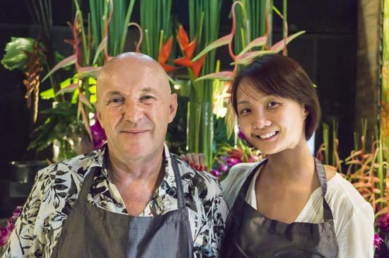 """The Slate a Phuket Pearl Resort held an exclusive workshop of """"Art Floral"""""""