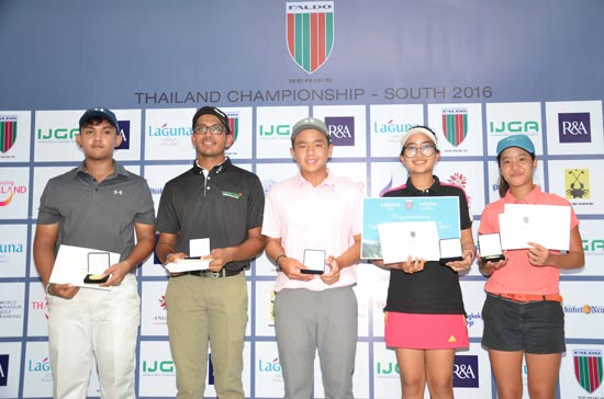 'Toy' Story Dominates New Faldo Series Thailand Championship