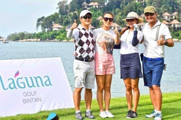 Sir Nick Faldo Re-launches Newly Renovated Laguna Golf Bintan