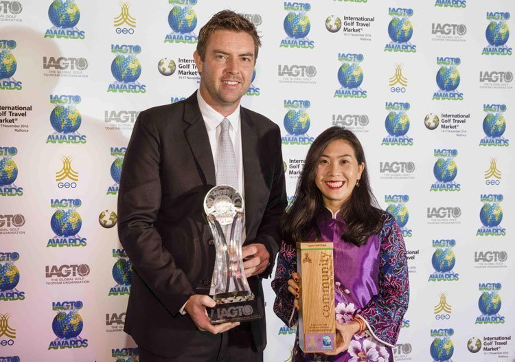 Double Cheer for Laguna Golf at the 17th Annual IAGTO Awards 2017 Laguna Golf Lăng Cô voted Golf Resort of the Year • Laguna Golf Phuket named Sustainability Award for Community Value