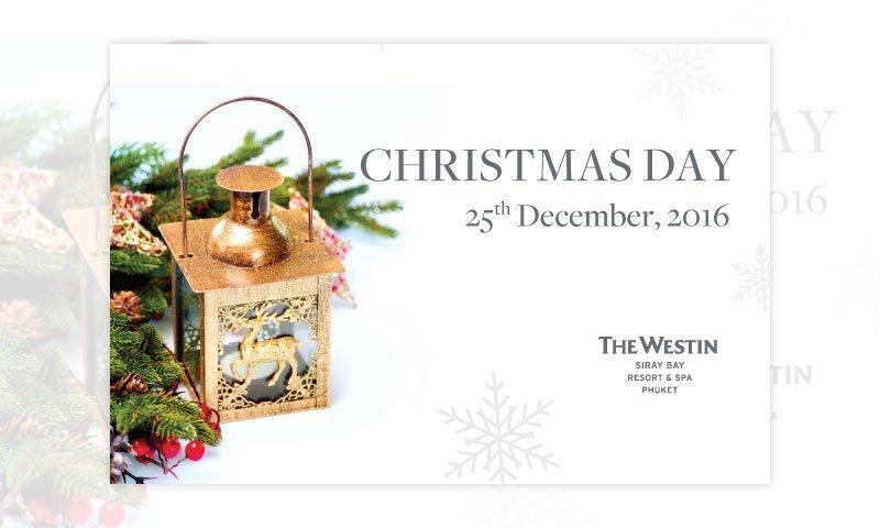 Christmas Day at The Westin Siray Bay Resort & Spa, Phuket