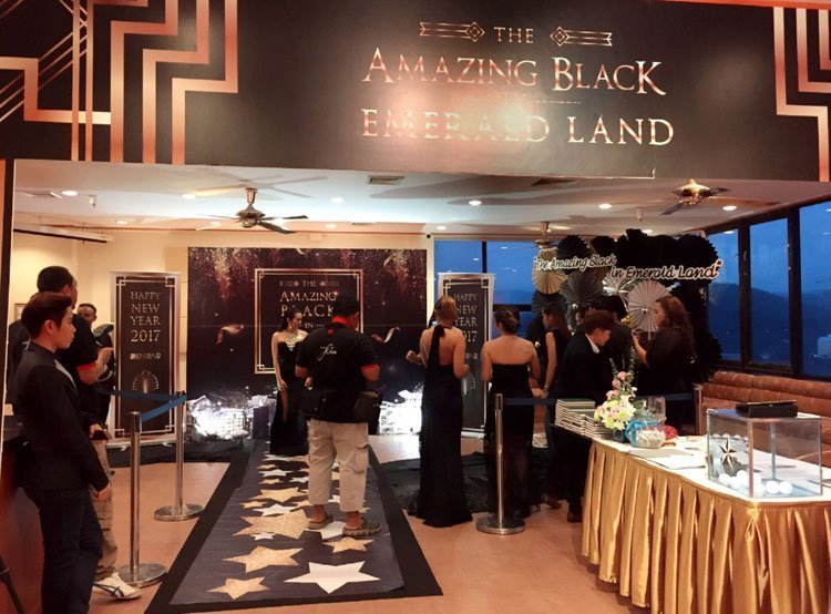 """""""The Amazing Black in Emerald Land"""" , 2016 Staff Party & New Year celebration"""