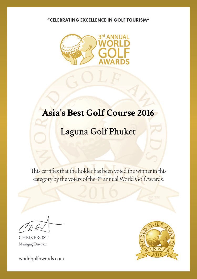 Laguna Golf Clinched 11 Industry Awards and Named Custodian of the Environment