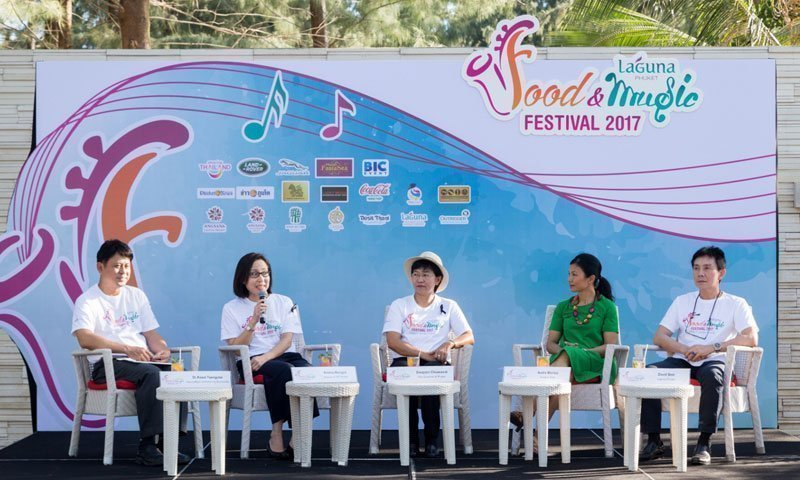"Inaugural ""Laguna Phuket Food & Music Festival"" Unveiled at a Media Showcase"