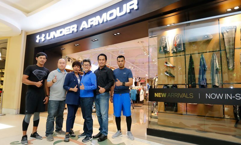 Under Armour opens new Brand House in Phuket