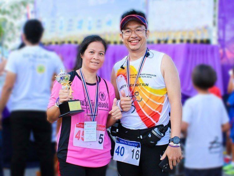 Amari Phuket wins cup at The 8th Thalang Chana Suek Mini-Marathon