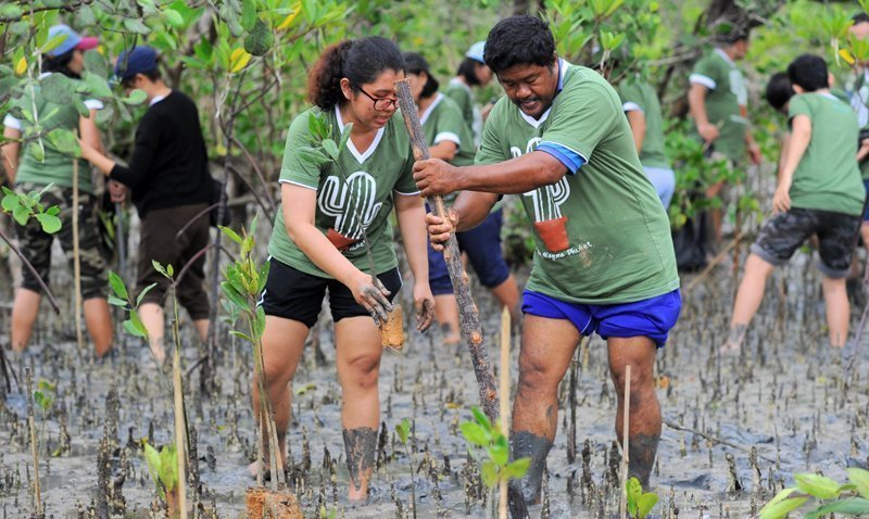 Laguna Phuket on a Mission to Paint the World Green