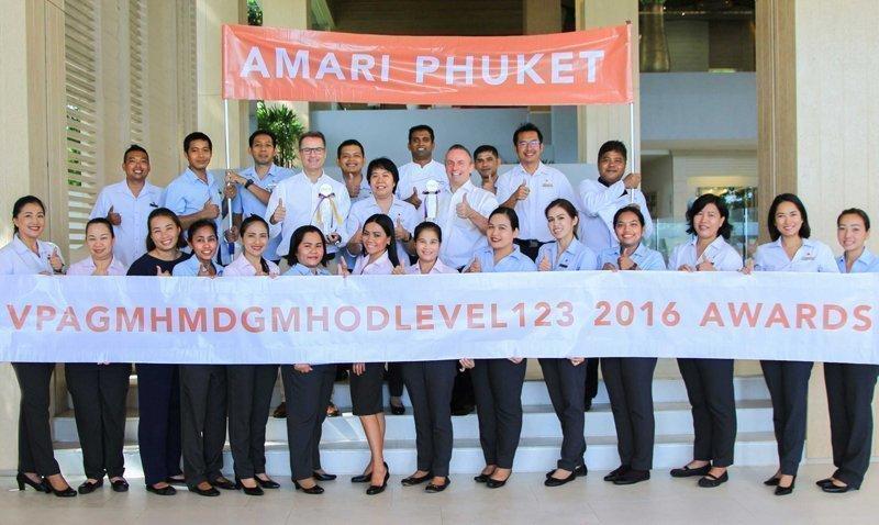 Amari Phuket celebrates two outstanding awards