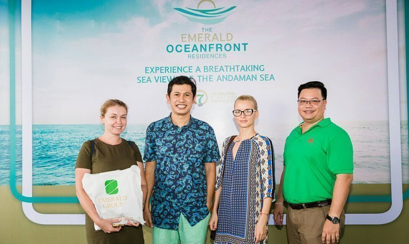 "Emerald Group has organized ""Thank you agents' party in Phuket"""
