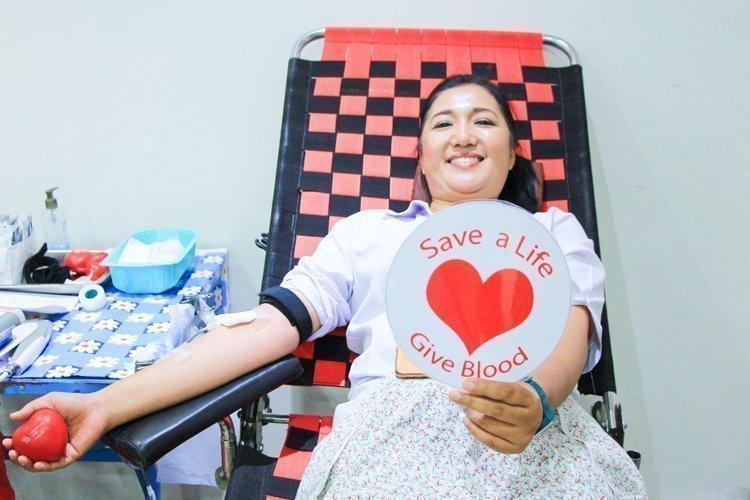 Amari Phuket team donates blood to the Thai Red Cross Society