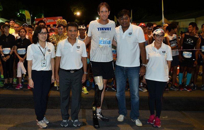 Eitan Hermon, Paralympic marathon champion