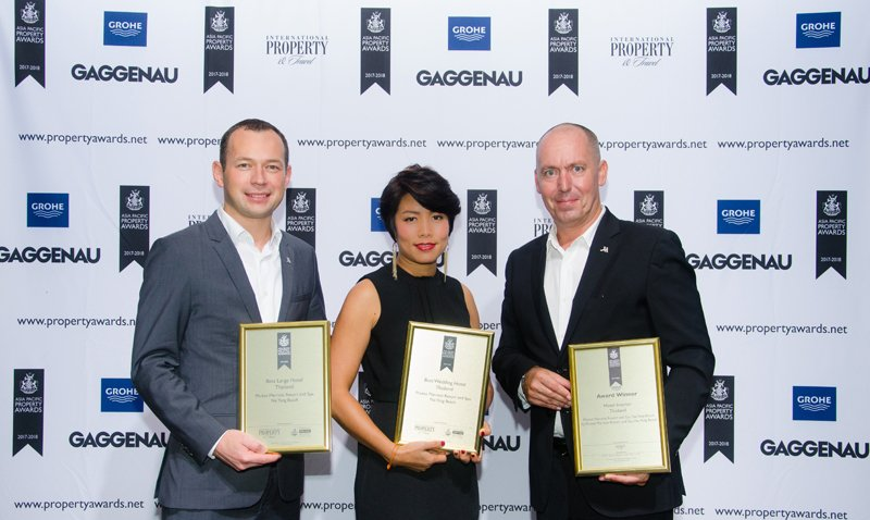 Phuket Marriott Resort and Spa, Nai Yang Beach  Wins Multiple Honors