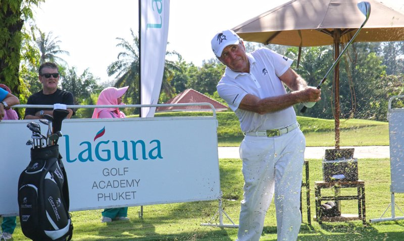 Golf Legend Gary Player Meets Local Junior Golf Enthusiasts at Laguna Golf Phuket