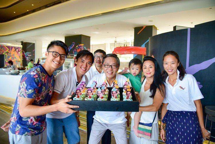 "The 65th Birthday of Banyan Tree founder ""Khun KP Ho"" at Cassia Phuket"