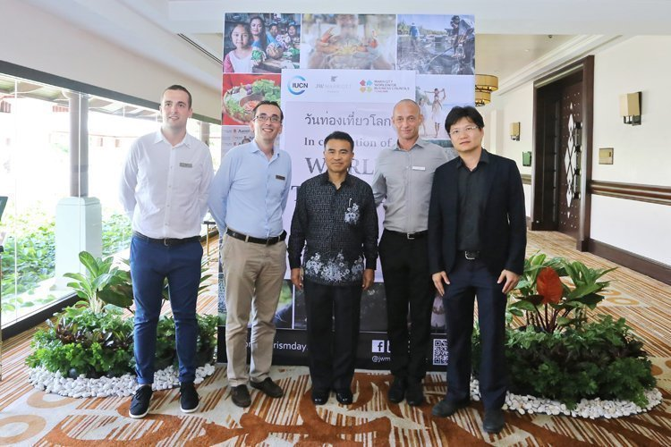 Marriott Thailand Business Council and IUCN hosted the World Tourism Day 2017 at JW Marriott Phuket Resort & Spa