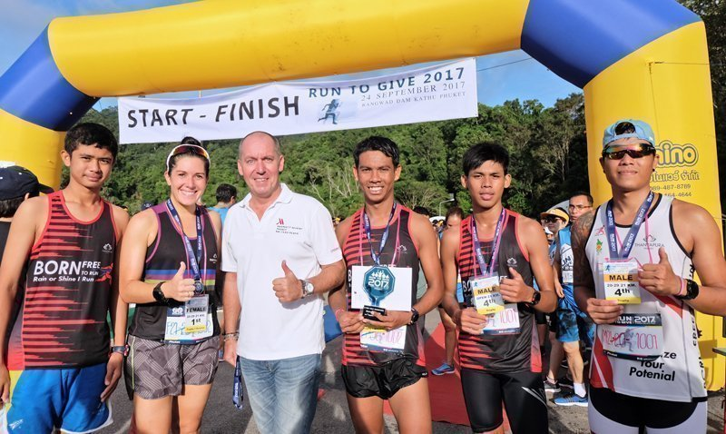 "Phuket Marriott Resort and Spa, Nai Yang Beach gets active in local community with ""Run To Give"""