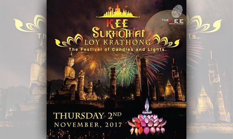 U0026quot Kee Sukhothai Loy Krathong U201d At The Kee Resort  U0026 Spa