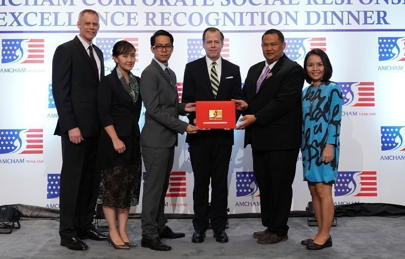 Laguna Phuket's 3rd Consecutive Year of CSR Excellence Recognition by AMCHAM