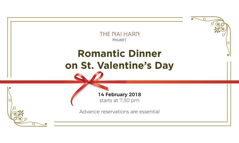 Romantic Dinner on St. Valentine's Day