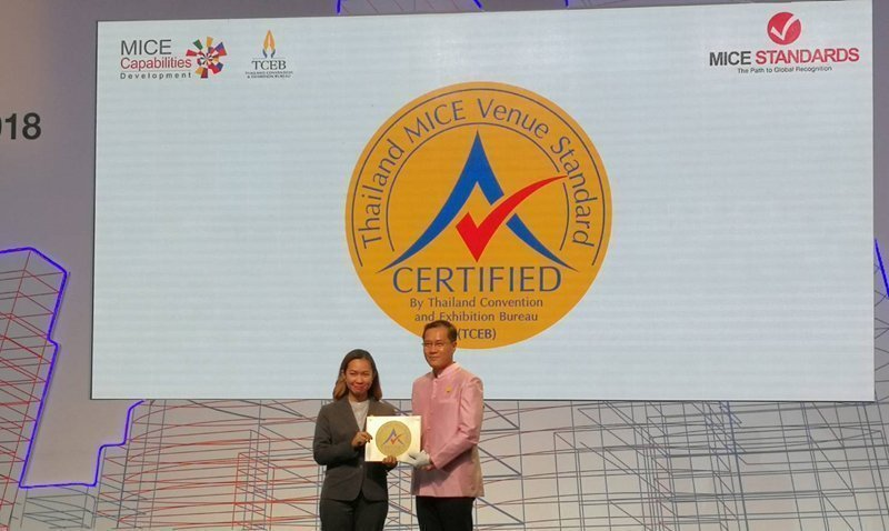 Kata Sea Breeze Resort has been awarded the Thailand MICE Venue Standard Award certification 2018