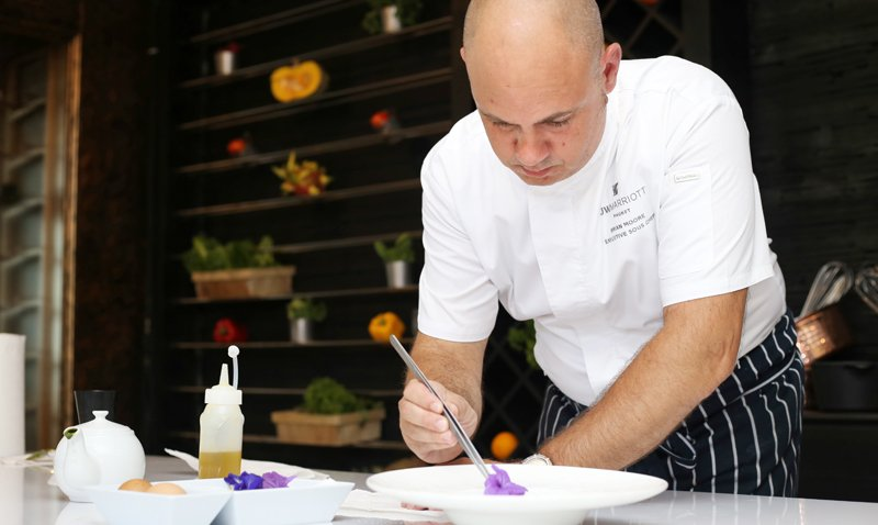JW Marriott Phuket Resort & Spa Reveals New Executive Sous Chef Brian Raymond Moore