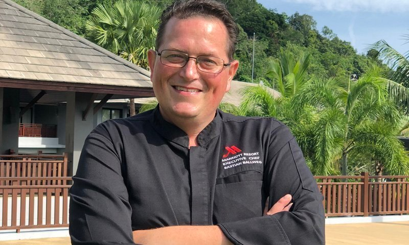 Bastian Ballweg appointed Executive Chef at Phuket Marriott Resort and Spa, Nai Yang beach