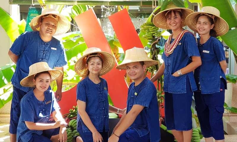 """MICE Groups """"Go Local"""" at Phuket Marriott Resort and Spa, Nai Yang Beach"""