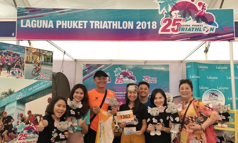 All Invited to Visit 25th Laguna Phuket Triathlon Booth at Sahaviriya-Bangkok Triathlon