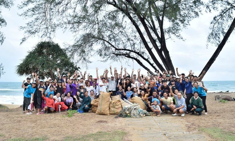 JW Marriott Phuket Resort & Spa supported The International Coastal Clean Up 2018