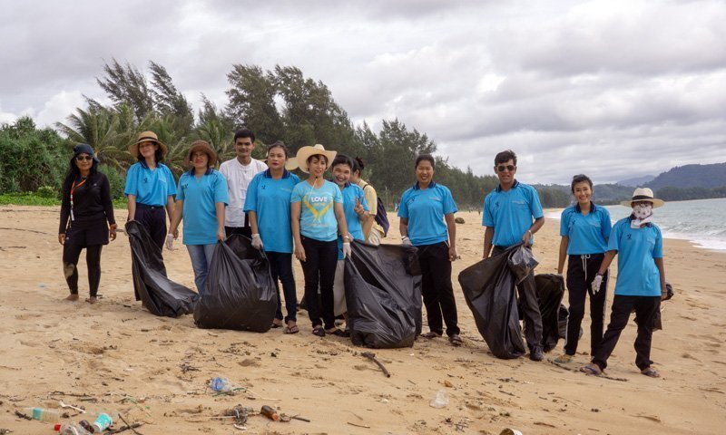 Close to 2 tons of trash collected during Soi Dog 2nd beach cleaning